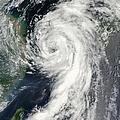 Tropical Storm Dianmu by Stocktrek Images