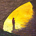 Trout Fishing by Garry McMichael