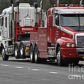 Truck Tow by Joanne Kocwin