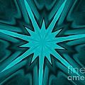Turquoise Star by Marsha Heiken