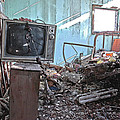 Tv On Stand by James Steele
