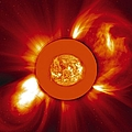 Two Coronal Mass Ejections by Solar & Heliospheric Observatory consortium (ESA & NASA)