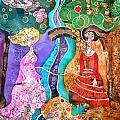 Two Women by Sandra Kern