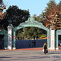 Uc Berkeley . Sproul Plaza . Sather Gate . 7d10020 by Wingsdomain Art and Photography
