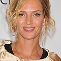 Uma Thurman In Attendance For Friars by Everett