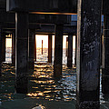 Under The Pier by Bill Cannon