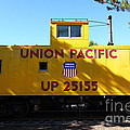 Union Pacific Caboose - 5d19206 by Wingsdomain Art and Photography