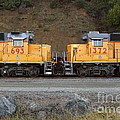 Union Pacific Locomotive Trains . 7d10573 by Wingsdomain Art and Photography