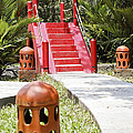 Up Garden Path Over Red Bridge by Kantilal Patel