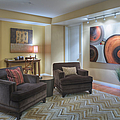 Upscale Living Room Interior by Andersen Ross