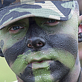 U.s. Army Soldier Wearing Camouflage by Stocktrek Images