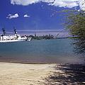 U.s. Coast Guard Cutter Jarvis Transits by Michael Wood