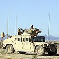 U.s. Marine Standing Ready by Stocktrek Images