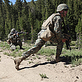 U.s. Marines Training At The Mountain by Stocktrek Images