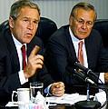 U.s. President George W. Bush Answers by Everett