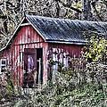 Us61 Barn by Georgeann  Chambers
