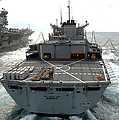Usns Supply Conducts A Replenishment by Stocktrek Images
