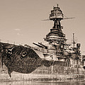 Uss Texas Bw by JC Findley