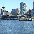 Vancouver Bc Skyline Canada Place Panorama Canada. by Gino Rigucci