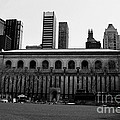 View From Bryant Park Nyc by Trude Janssen