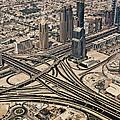 View Of Burj Khalifa by Luc V. de Zeeuw