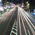View Of Traffic At Nihonbashi, Tokyo, Japan by Billy Jackson Photography