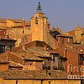 Village De Roussillon. Luberon by Bernard Jaubert