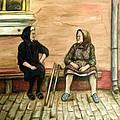 Village Gossip by Linda Nielsen