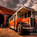 Vintage Bus  by Rob Hawkins