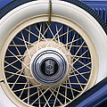 Vintage Nash Tire by Kay Novy