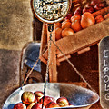 Vintage Scale At Fruitstand by Jill Battaglia