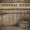 Vintage Sign General Store by Jane Rix