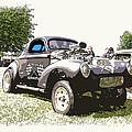 Vintage Willys Gasser by Steve McKinzie