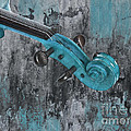 Violinelle - Turquoise 04d2 by Variance Collections