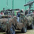 Vw Iltis Jeeps Of A Recce Scout Unit by Luc De Jaeger