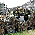 Vw Iltis Of The Special Forces Group Print by Luc De Jaeger
