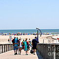 Walking To The Beach by Susan Stevenson