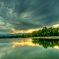 Warren Lake At Sunset by Anthony Doudt