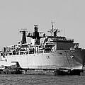 Warship Hms Bulwark by Jasna Buncic
