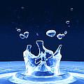Water Drop Impact by Pasieka