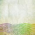 Water Pattern On Old Paper by Setsiri Silapasuwanchai