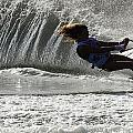 Water Skiing Magic Of Water 12 by Bob Christopher
