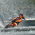 Water Skiing Magic Of Water 15 by Bob Christopher