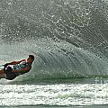 Water Skiing Magic Of Water 7 by Bob Christopher