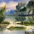 Water View Landscape by Cristina Movileanu