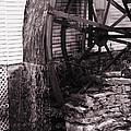 Water Wheel Old Mill Cherokee North Carolina  by Susanne Van Hulst