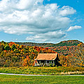 West Virginia Homestead Print by Steve Harrington