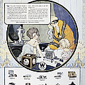 Westinghouse Ad, 1924 by Granger