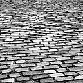 Wet Cobblestoned Huntly Street In The Union Street Area Of Aberdeen Scotland Uk by Joe Fox