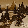 When It Snowed In The Mountains by Barbara Griffin